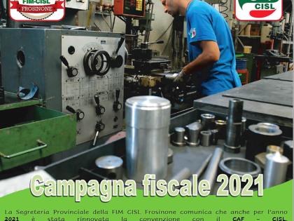 Campagna Fiscale Anno 2021 Gratuita per tutti gli ISCRITTI